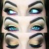 Gold Smokey Eye