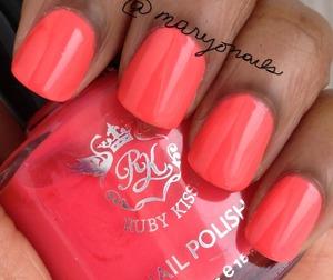 Ruby Kisses - Tropical Blend http://www.polish-obsession.com/2013/03/ruby-kisses-tropical-blend.html?m=1
