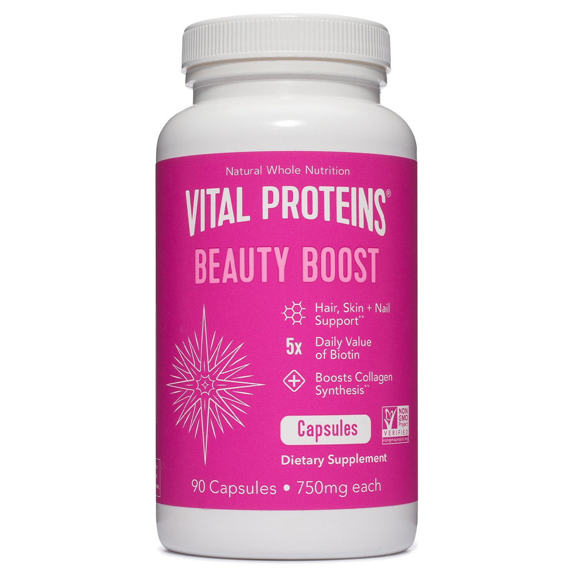 Vital Proteins Beauty Boost Capsules product swatch.