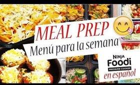 🚨Meal Prep No. 15 Cocina conmigo*Menú Semanal-Cocina Rápido y Fácil la COMIDA DE TODA LA SEMANA-🌟