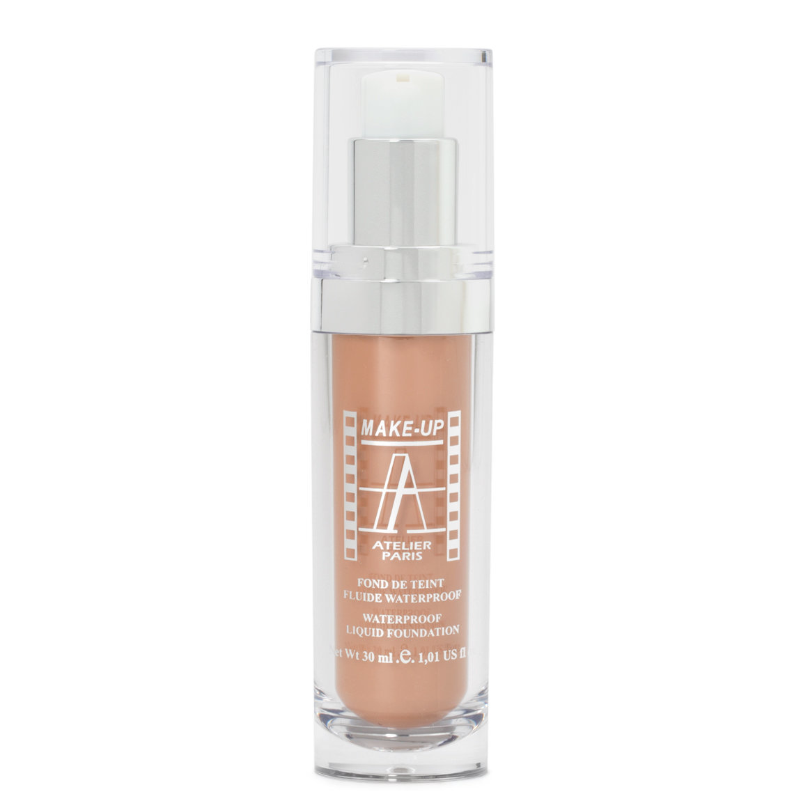 Make-Up Atelier Fluid Foundation Apricot FLW3A Apricot Medium