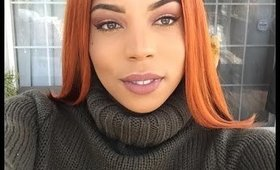 GRWM | Outside Edition | ORANGE HAIR!