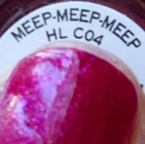 OPI Muppets - Meep Meep Meep