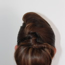 Chignon And Twists Updo