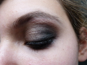 Bronze smokey eye with drugstore products :) !   if you want to recreate this look please go ahead to my videos!