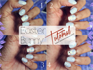 Hi !  Just did my nails for easter. It was my first attempt at drawing a bunny and I was quite happy about the result after all ! You can find more pics on my website, here's the direct link :  ** http://www.monsieurlili.com/#!easte... ** Page can take time to load depending on your internet browser, but please be patient and/or reload it, it's worth it !. If you still can't see it, find my nail art in the womanly section and you'll see them all ! I know it's in french and stuff but you can easily understand how to achieve those nails because of the pictures. Thanks for reading !