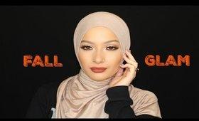 Full Glam Fall Inspired Makeup Tutorial |Babylailalov