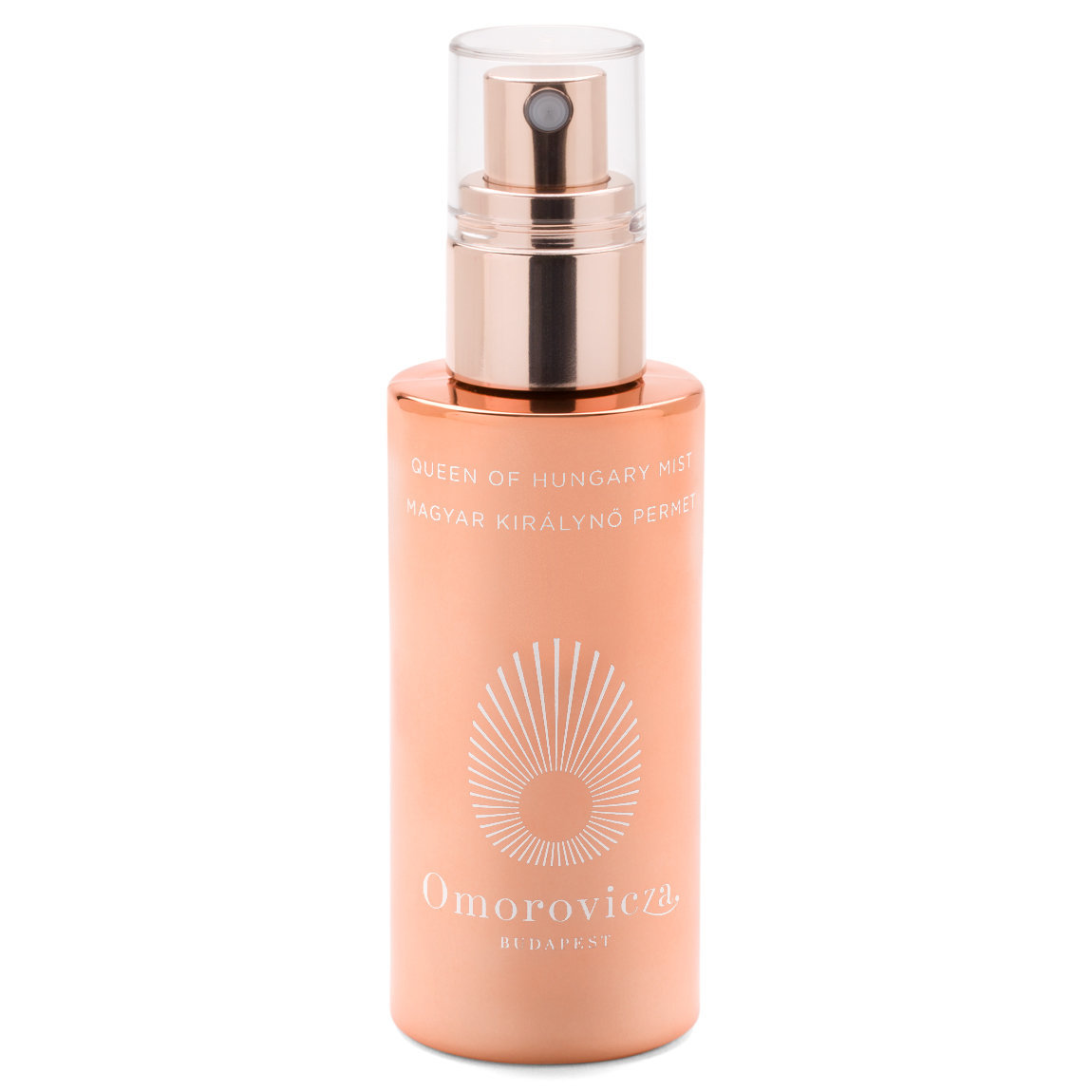 Omorovicza Queen of Hungary Mist 50 ml Rose Gold Edition product smear.