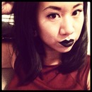 Black lipstick for an October night