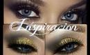 Maquillaje Dorado en Gris inspirado en Naomi @vegas_nay