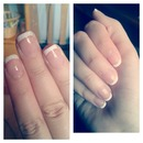 Simple And Elegant French Manicure :)