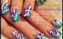robin moses nail art: juicy graffiti tutorial