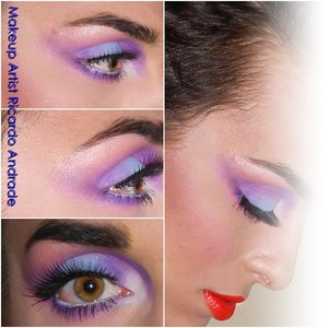 Full of color... www.facebook.com/ricandrad.makeupartist