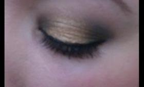 Smokey Gold (Makeup Tutorial)