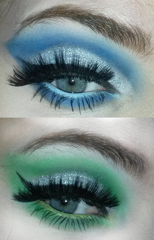 Inspired by the beautiful and talented Ashley L: http://www.beautylish.com/f/rmqviwg