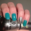 China Glaze Four Leaf Clover & Cheers To You