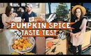 Trader Joe's FALL ITEMS 2018 Haul (w/ Taste Test!) + Shop with Me | Brylan and Lisa