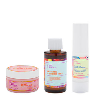 Good Molecules Cleanse, Tone & Moisturize Travel Set