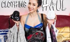 Geek Girl Clothing Haul || Star Wars, Star Trek, OnePiece, Loungefly!