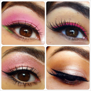 various eye looks from my blog: www.MaryamMaquillage.com