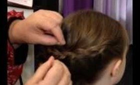 1033 Main Salon & Spa: Quick & Easy 2 Braid Updo
