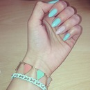 Simple summer nails