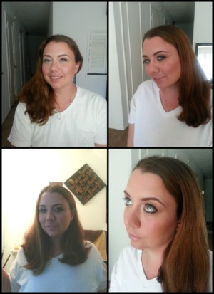 did makeup for a friend