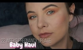 WEEK 22 PREGNANCY UPDATE - BABY GIRL HAUL | Danielle Scott