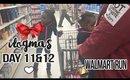 Vlogmas Day 11&12 - WALMART RUN   Jessica Chanell