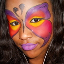 Butterfly Inspired Look Using Sugarpill Palette