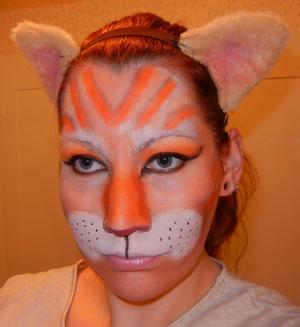 I was my Kitty Goken for Halloween.