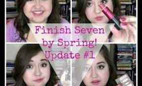 Finish 7 By Spring! Update #1