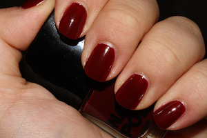 H&M Moody Model - 2 coats  http://iloveprettycolours.blogspot.com/2011/12/beautiful-reds.html