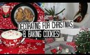 VLOG - Decorating for Christmas, Decor Ideas & Baking Xmas Cookies!