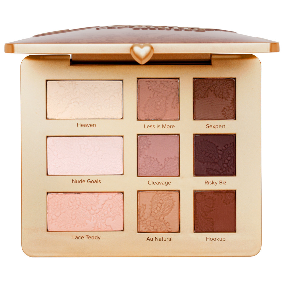 Too Faced Natural Matte Eyeshadow Palette product smear.
