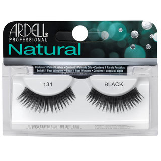 Natural Lashes 131 Black