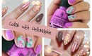 Floral Nails: Collab with HelloMaphie ♡