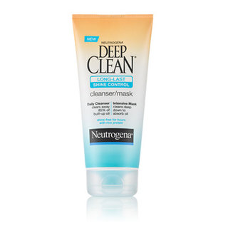 Neutrogena Deep Clean Long-Last Shine Control Cleanser/Mask