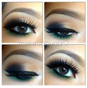 """Using house of lashes """"noir fairy"""""""