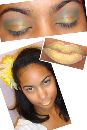 Citrus inspired look