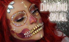 DIAMOND SKULL   BEAUTY BY JANNELLE