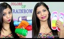 Colors Of The Rainbow Tag,Makeup,Fashion,Beauty, SuperPrincessjo, Favourites 2013