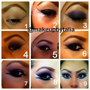Arabic makeup look :)