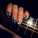 Zebra'S Nailart Music Inspired