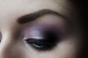 Purple eyeshadow is my all time favorite look!  Like me on Facebook! http://www.facebook.com/pages/Makeup-Is-Art/455624517797347