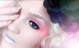 The Hunger Games: Effie Trinket Makeup Tutorial