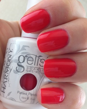 Gel polish. For more swatches please visit my blog :)