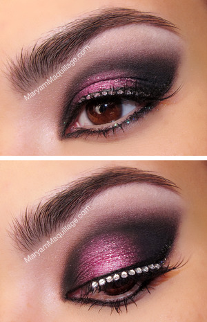 details & how-to: http://www.maryammaquillage.com/2013/02/smokey-eyed-valentine.html