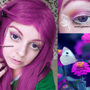Fly Butterfly Makeup Ispired Look