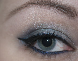 just a look i posted on my blog featuring victorian disco cosmetics werewolf fur eyeshadow  flash photo  more info on my blog:  http://marakevyn.blogspot.com/2014/05/werewolf-fur-eotd.html